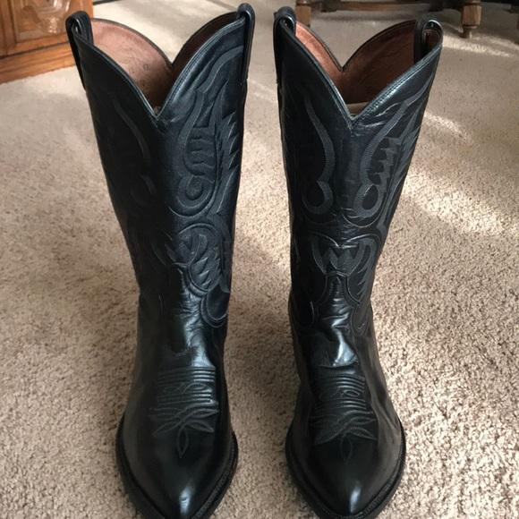 606f36ee6f9 Tony lama cowboy boots comfortable soft leather